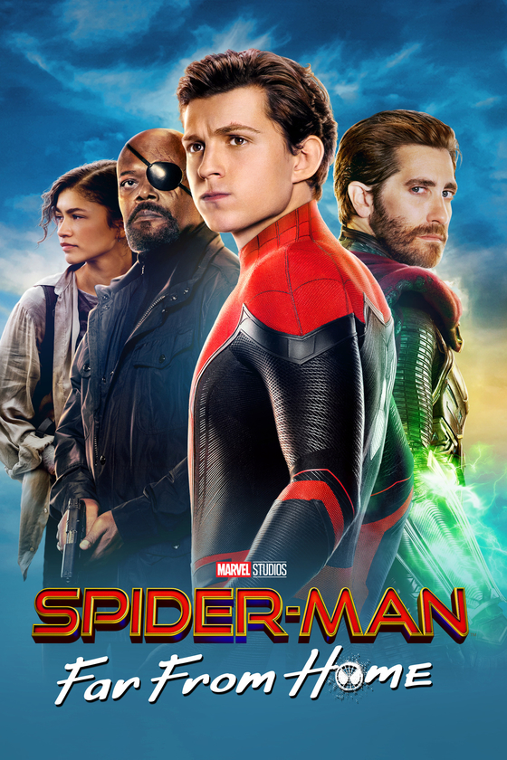 Image result for SPIDERMAN far from home movie poster free use