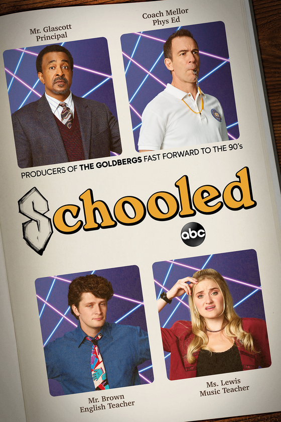 Schooled key art