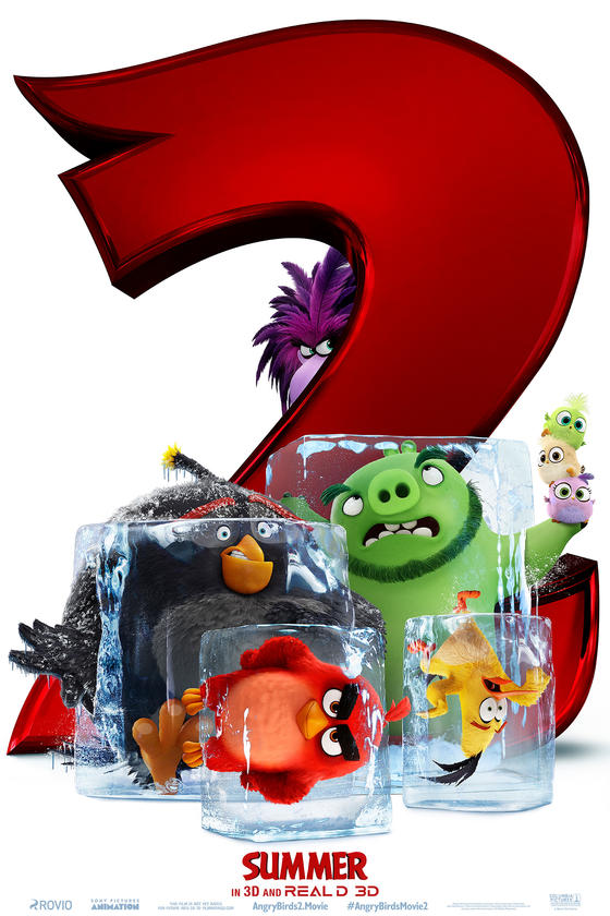 The Angry Birds Movie 2 Key Art