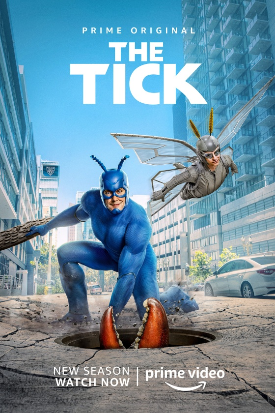 The Tick Key Art